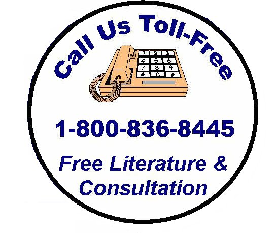 Call Us Toll-Free 1-800-836-8445